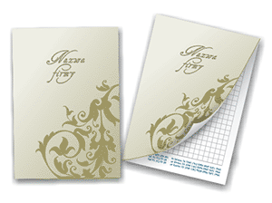 Notebooks with softcover